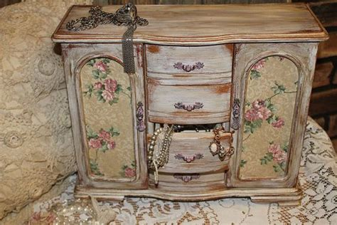 shabby chic jewelry cabinet shabby chic french dresser farmhouse cabinet vintage