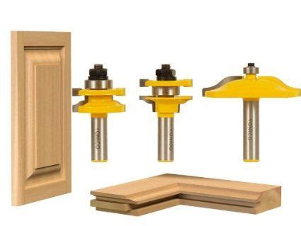 cabinet door router bit set 3 bit raised panel cabinet door router bit set ogee