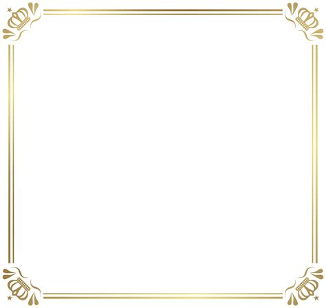 transparent background invitations announcements zazzle frame border with crowns png image gallery yopriceville