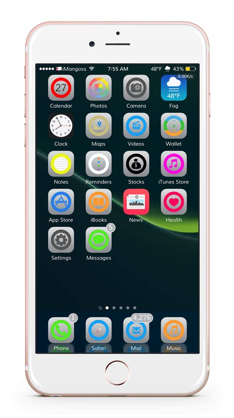 theme chrome ios best ios themes for iphone ipad and ipod touch imangoss
