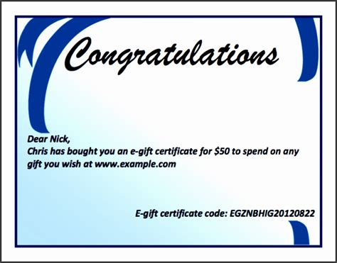 8 Gift Certificate Template In Word Sletemplatess Sletemplatess Microsoft Certificate Template