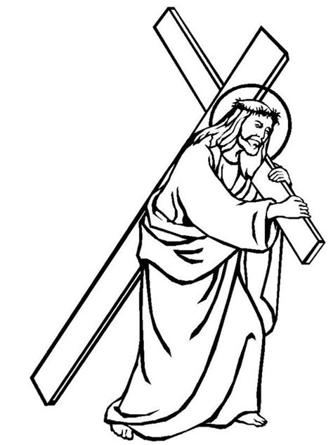 methodist coloring book album jesus on the cross coloring page coloring home