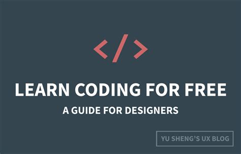 learn to code a learner s guide to coding and computational thinking books how to learn coding for free a complete guide for designers