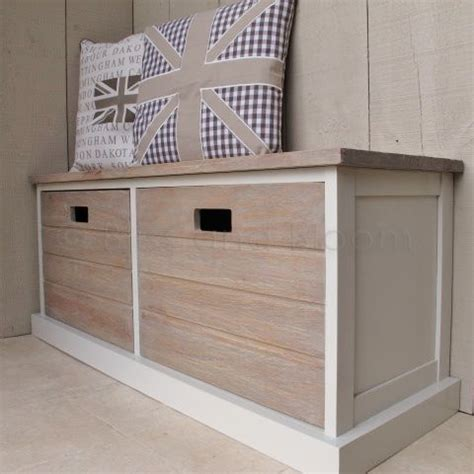 storage benches with seating 2 drawer storage unit bench seat bliss and bloom ltd