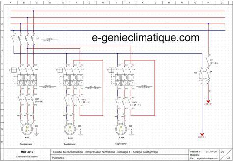 schema electrique chambre froide froid15 le 2 233 me montage partie 2 sch 233 233 lectriques froid