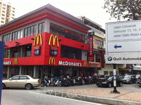 section 14 a mcdonald s section 14 petaling jaya my petaling jaya
