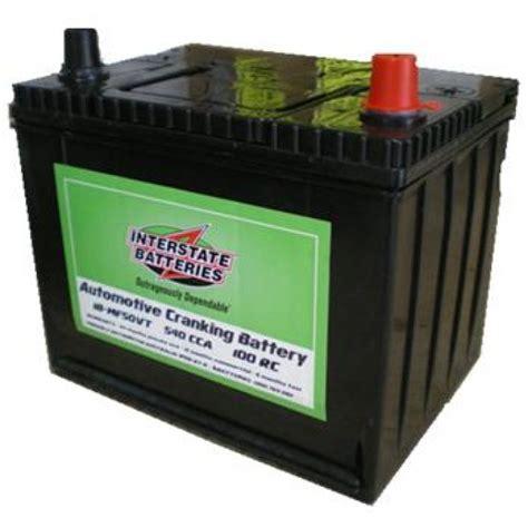 Interstate NS50VT Silver Calcium Battery   Batteries   12 Volt Accessories   Jamie's