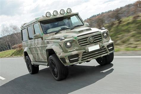 maybach jeep mercedes classe g sahara 233 dition par mansory devant