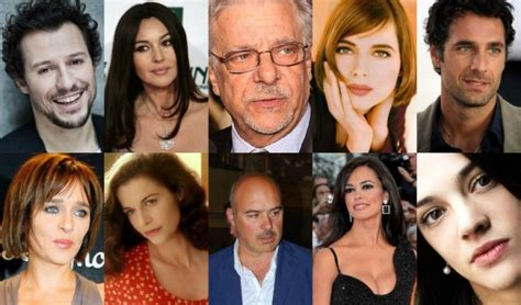 top ten italian actors and actresses of the present