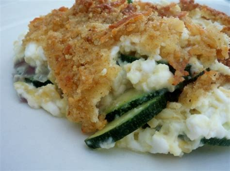 zucchini cottage cheese casserole recipe food