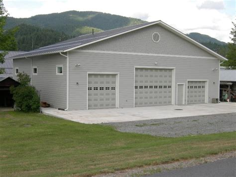 large garage steel metal storage buildings shops garages