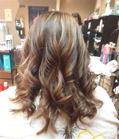 chestnut hair color with caramel highlights caramel balayage highlights on dark brown hair balayage