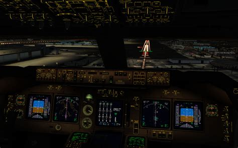 Home Design Simulator pmdg 747 v3 night cockpit previews pc flight net no 1