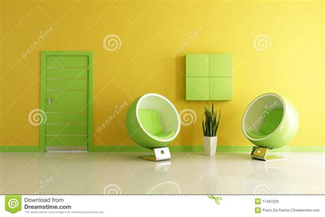 green and yellow bedroom green and yellow living room stock photo image 11497220