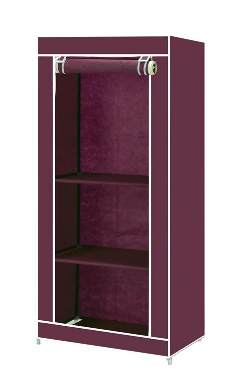 clothes storage single canvas clothes storage organiser wardrobe cupboard