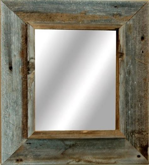 rustic mirrors for bathrooms western rustic mirror reclaimed barn wood frame 20x24