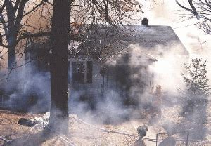 how to clean up smoke soot odor damage house