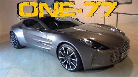 Aston Martin One 77 Interior by Aston Martin One 77 Interior Exterior Overview 1080p