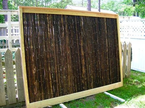 wicker panels for bamboo fence panels for backyard privacy best house design