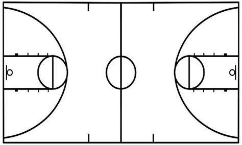 basketball court diagrams for plays best photos of basketball court template for drawing plays