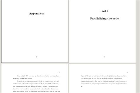 How To Make A Cover Page For A Research Paper - table of contents how to add cover pages to appendices