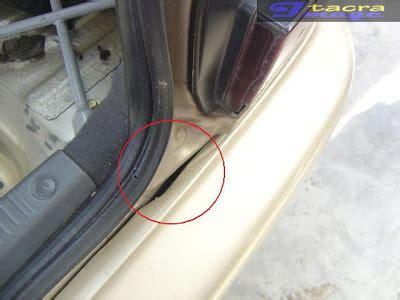 Cermin Kereta Gen2 tacra s diy garage boot masuk air