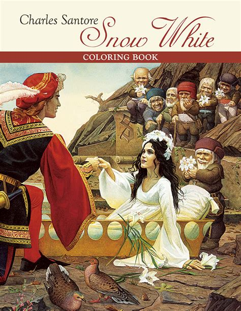snow white picture book charles santore snow white coloring book
