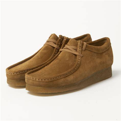 Suede Shoes by Clarks Originals Uk Wallabee Cola Suede Shoes