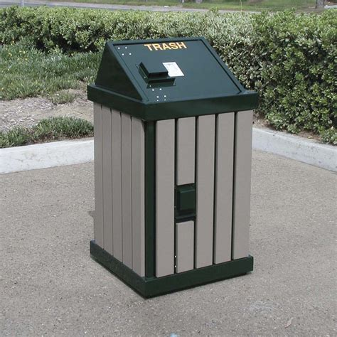 trash can outdoor outdoor trash cans storage design outdoor trash cans