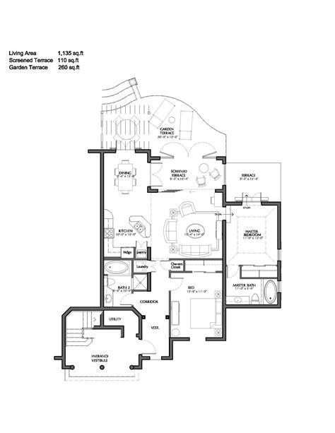 Server Room Floor Plan turks and caicos 2 bedroom deluxe pool amp garden suite