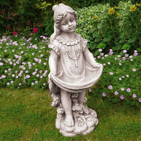 girl garden statue resin garden ornaments