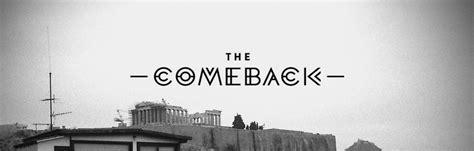 The Come Back the comeback studio