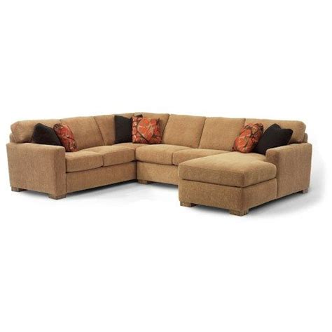 Modular Sectional Sofa Pieces Flexsteel Bryant Contemporary Sectional Sofa With 3 Modular Pieces Home Furniture