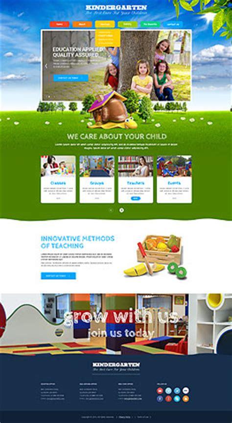 free website templates for kindergarten kindergarten templates website templates from www