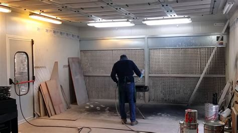 cabinet shop spray booth spray booth in industrial painting equipment