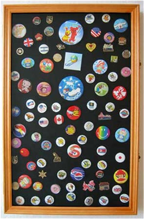 Display To Hold Multiply Matted Pieces - large pin medal display cabinet w fancy glass door