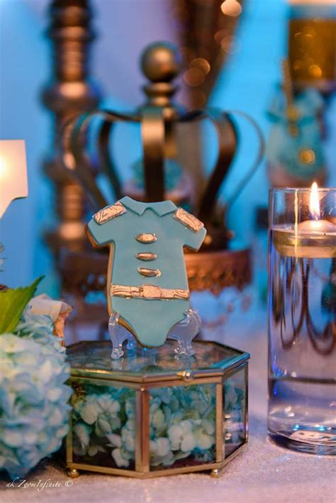 Prince Decorations by Golden Glamorous Prince Baby Shower Baby Shower Ideas