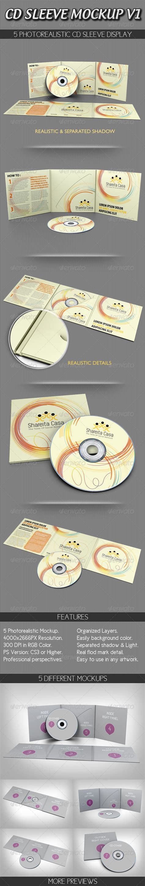 sleeve tattoo mockup cd sleeve mockup v1 graphicriver