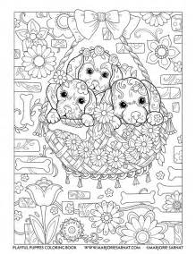 Backyard Bow Playful Puppies Marjorie Sarnat Design Amp Illustration