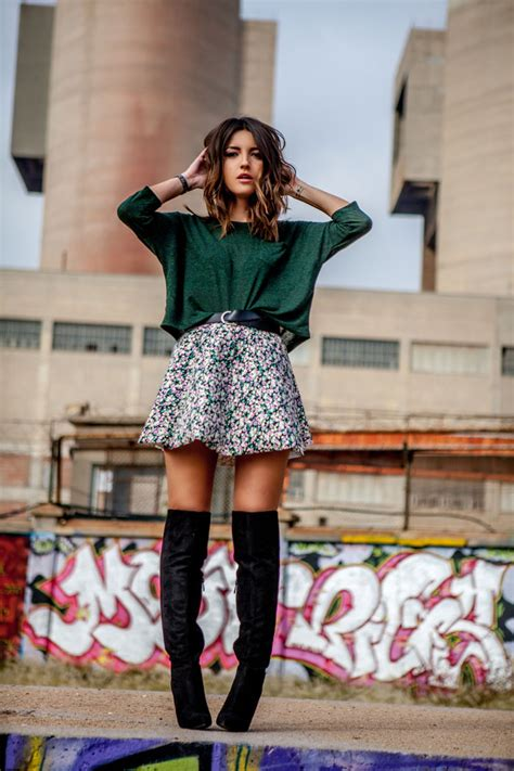 Wears A by The Knee Boots Trend Autumn Winter 2014 Just The