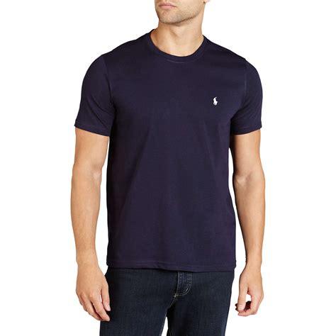 T Shirt Polo Wanita polo ralph crew neck lounge t shirt navy at lewis