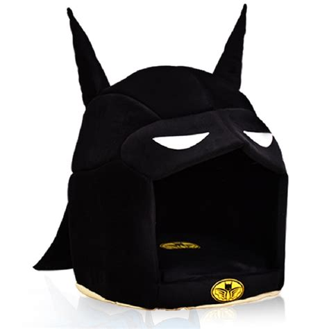 batman dog bed super hero dog house foldable pet dog bed cat bed house