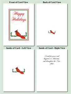 Bird design free printable christmas cards