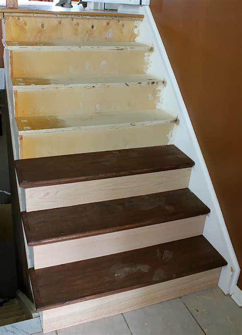 Stair Remodel Treads Ideas   Latest Door & Stair Design
