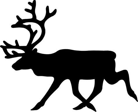 187 ryanlerch warning reindeer roadsign 1 scalable vector