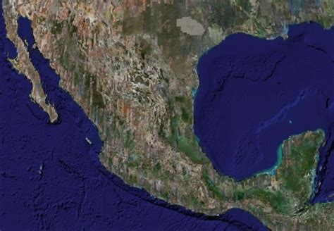 imagenes satelitales inegi satellite image photo of mexico