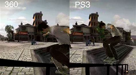 Skate Playstation 3 Vs Xbox 360 Graphics Comparison