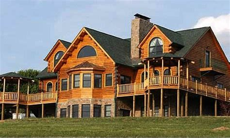 log cabin home with wrap around porch big log cabin homes love log cabins and wrap around porches home ideas