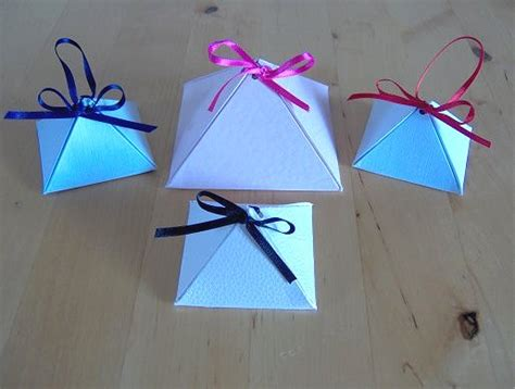 Paper Stuff To Make - santa s helper make a pyramid box