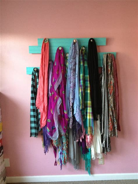 scarf rack let s be crafty and make something
